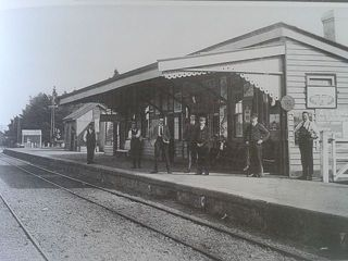 Lumsden Rail Station