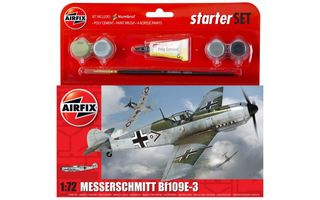 Messerscmitt Bf109E 3  Starter Set Scale 1:72