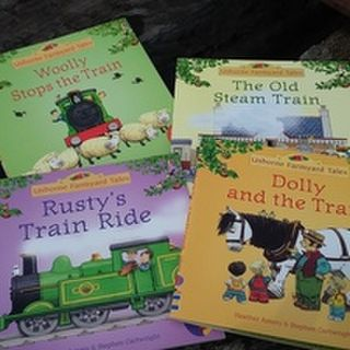 Set of 4 Little Train Books