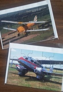 Aviation Mini Jigsaw