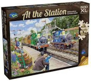 At the Station Jigsaw Bluebell Station