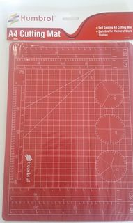 Humbrol A4 Cutting Mat for Modelling
