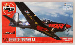 Shorts Tucano T1 Scale 1:72