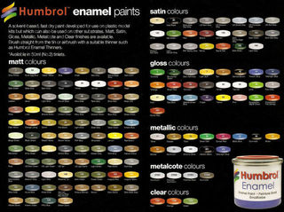 Humbrol Enamel Paint 14ml