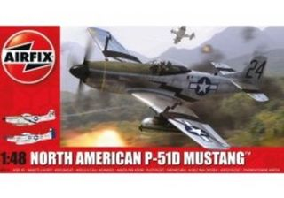 North American P51 Mustang Scale 1:72