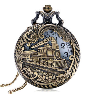 Train Fob Watch Pendant