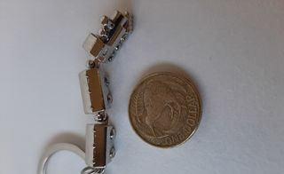 Train Key Ring with Carriages