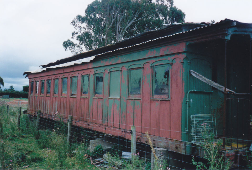 Addington Carriage Body now under restoration at Waimea Plains Railway, Mandeville