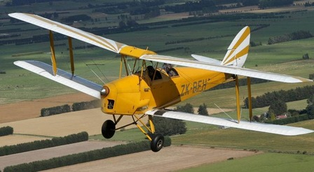 15 min Tiger Moth Flight - Pay at time of Flight cost will be $150NZD