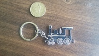Locomotive Key Ring
