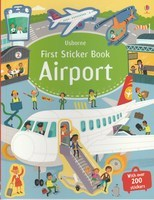 Usborne First Sticker Book Airport