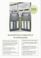 Olive Oil Fundraiser Gift Pack 3 x 250ml bottles - Order now for collection from Mandeville from 18th Oct 2019
