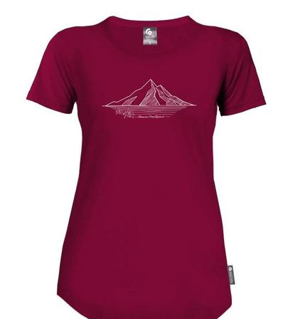 Womens Merino Mountain Top