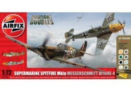Airfix Spitfire Messerschmitt Dogfight Set
