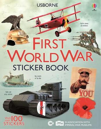 First World War Sticker Book