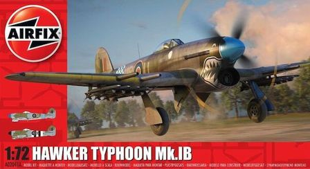Hawker Typhoon Mk 1B Scale 1:72